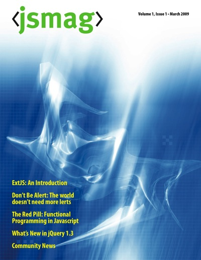 JavaScript Magazine Cover